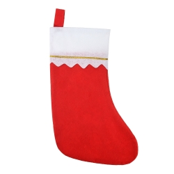 Shappy 12 Pack Red Felt Christmas Stockings Gifts Holder Large Hanging Christmas Socks, 14 Inch Tall