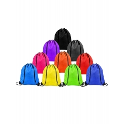 Shappy Drawstring Bag Sack Pack Cinch Tote Kids Adults Storage Bag for Gym Traveling (Multicolored, 20 Pieces)